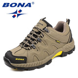 BONA Classic-Style High-Quality Men's Hiking Shoes
