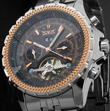 Luxury Mechanical Tourbillon Watch