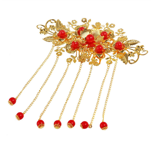 Exotic Allure Chinese Hair Comb Cheongsam Hair Accessory