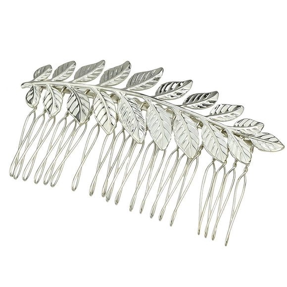 Fashionable Leaf Hairpin Comb