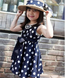 1PC Polka Dot Girl's Chiffon Sundress