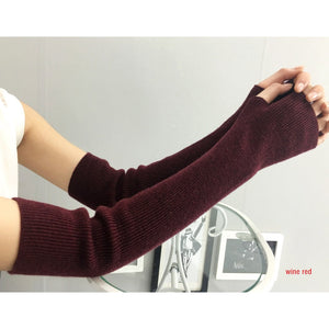 Cashmere Arm Sleeves (Cuff Style)
