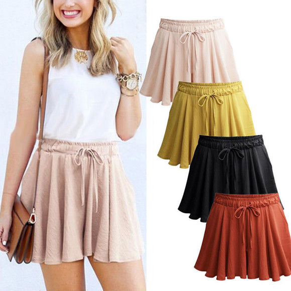 Casual Loose Shorts Mini