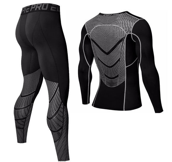 Long-sleeved Stretch Quick-drying Training Suit