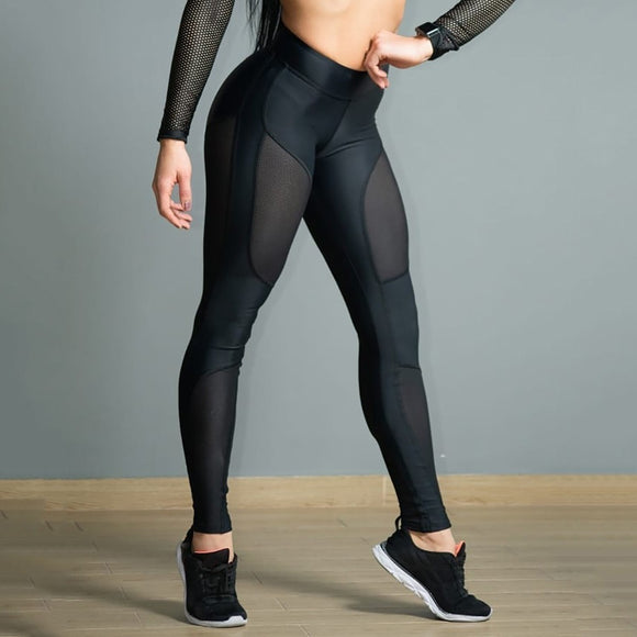 See-through Workout Leggings