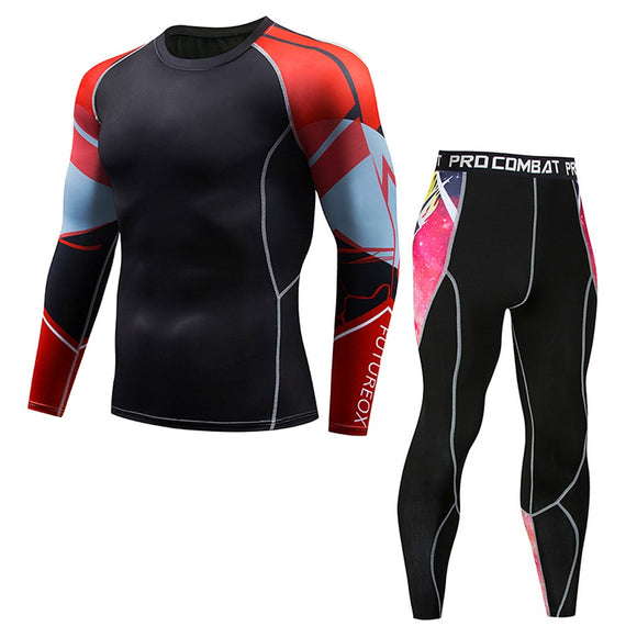 Fitness Fast Drying Elastic Sports Suit
