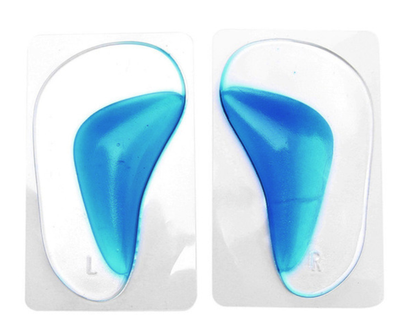 Orthopedic arch support cushion insoles