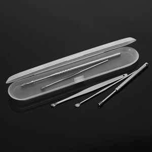 Stainless Steel Spiral  Ear Cleaner Tool  (5Pcs/set )