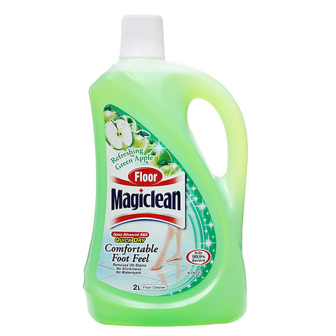 Magiclean Floor Cleaner 2L Refreshing Green Apple