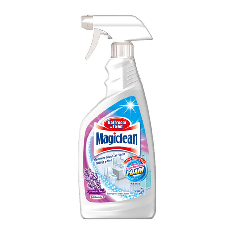 Magiclean Bathroom and Toilet Cleaner 500ml Lavender Fresh
