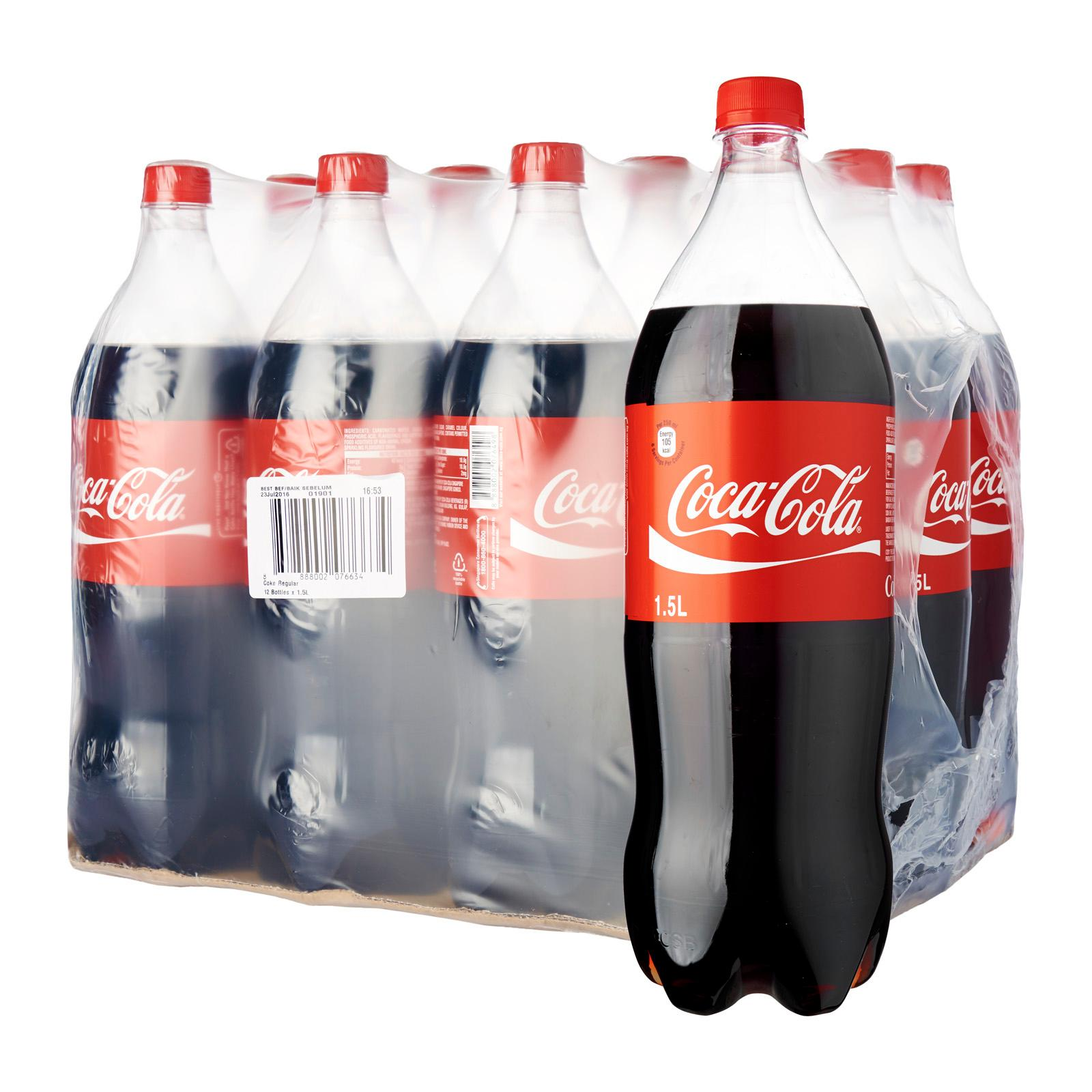 Coca-Cola Regular – Case 12 x 1.5 L