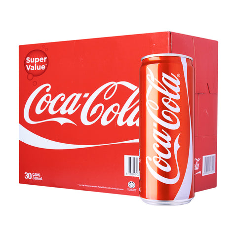 Coca-Cola Regular – Case 30 x 330 ml