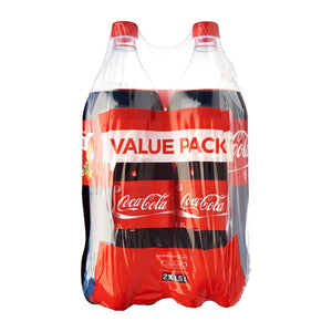 Coca-Cola Regular Twin Pack 2 x 1.5 L