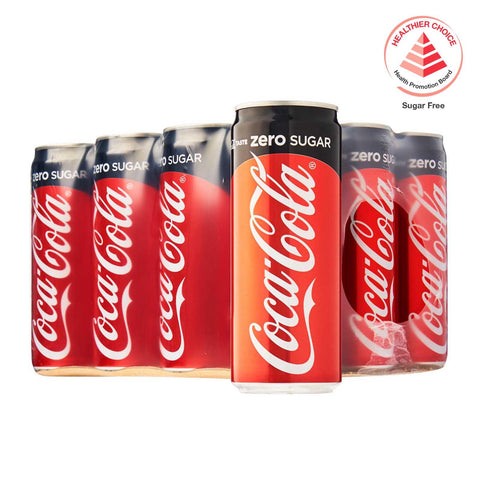 Coca-Cola Zero Sugar – Case 12 x 320 ml