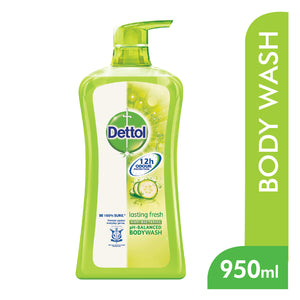 Dettol Anti-Bacterial Shower Gel Lasting Fresh 950 ml