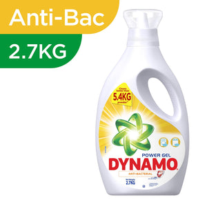 Dynamo Power Gel Anti-Bacterial Detergent 2.7Kg