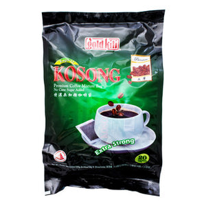 Gold Kili Kopi-O Kosong Premium Coffee Mixture Bag 20 x 10 g