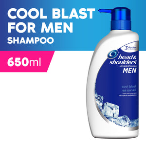 Head And Shoulders Men's Cool Blast Anti-Dandruff Shampoo 650 ml