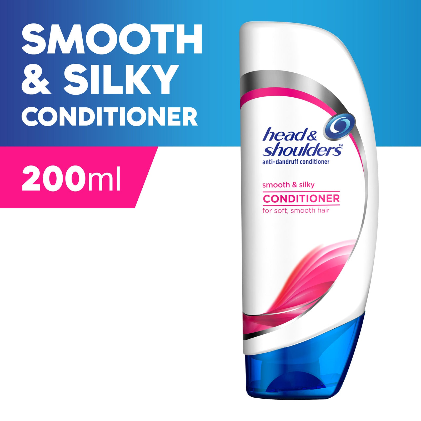 Head And Shoulders Smooth And Silky Conditioner 200 ml