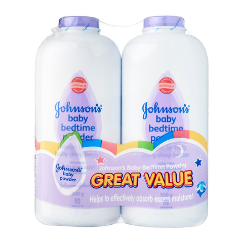 Johnson's Baby Bedtime Powder 2 x 500 g