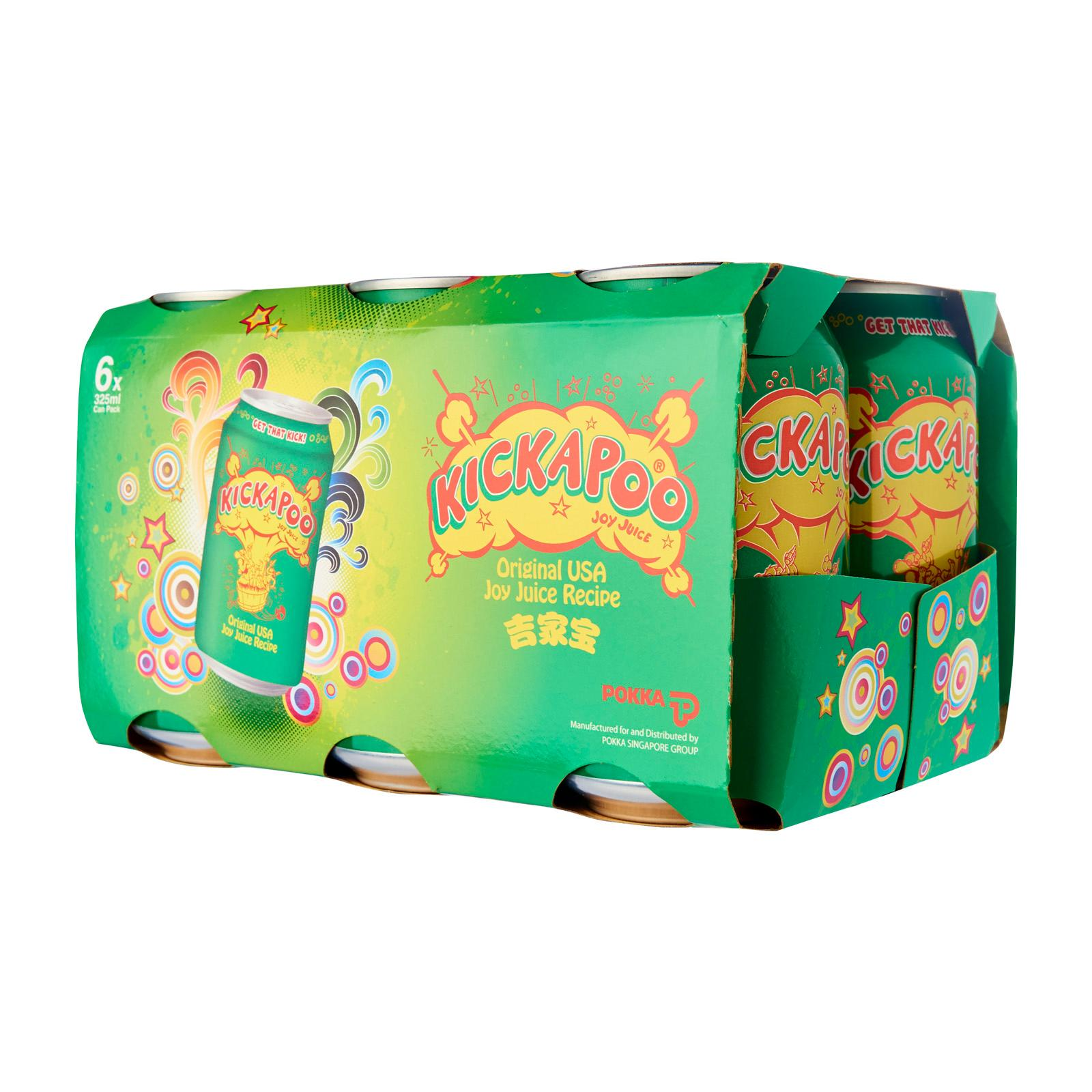 Kickapoo Joy Juice 6 x 325 ml