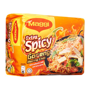 MAGGI Extra Spicy Goreng Blazing Chilli Instant Noodles 4 x 119 g