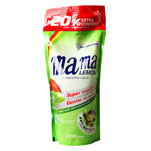Mama Lemon Refill Pack 600ml Green Tea