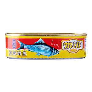Mili Premium Fried Dace with Salted Black Beans 184g