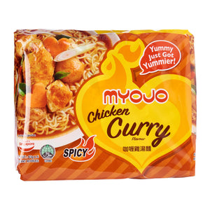 Myojo Chicken Curry 5 x 83g