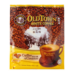 Old Town 2-In-1 Coffee And Creamer White Coffee Mix 15 x 25 g