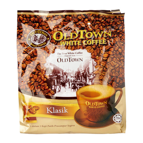 Old Town 3-In-1 Classic White Coffee Mix 15 x 40 g