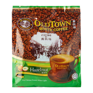 Old Town 3-In-1 Hazelnut White Coffee Mix 15 x 40 g