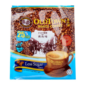 Old Town 3-In-1 Less Sugar 15 x 525 g