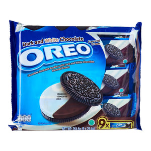 Oreo Dark And White Chocolate Multipack 9 x 29.4 g