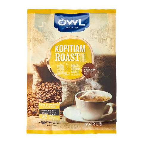 Owl Kopitiam Roast And Ground – Kopi C Kosong Coffee15 x 25
