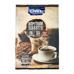 Owl Kopitiam Roast And Ground – Kopi O Gao Coffee 20 x 20 g