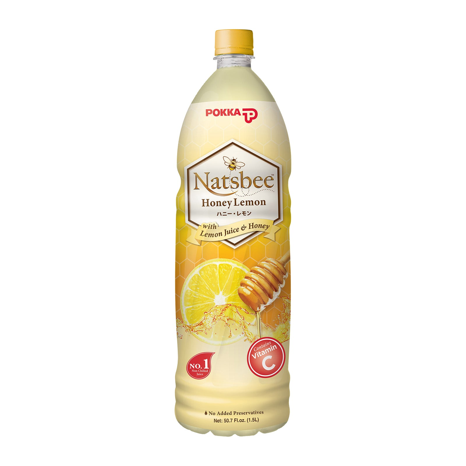 Pokka Natsbee Honey Lemon 1.5L