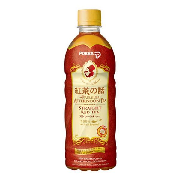 Pokka Straight Red Tea 500ml