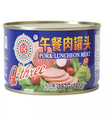 Q3 Pork Luncheon Meat 397g