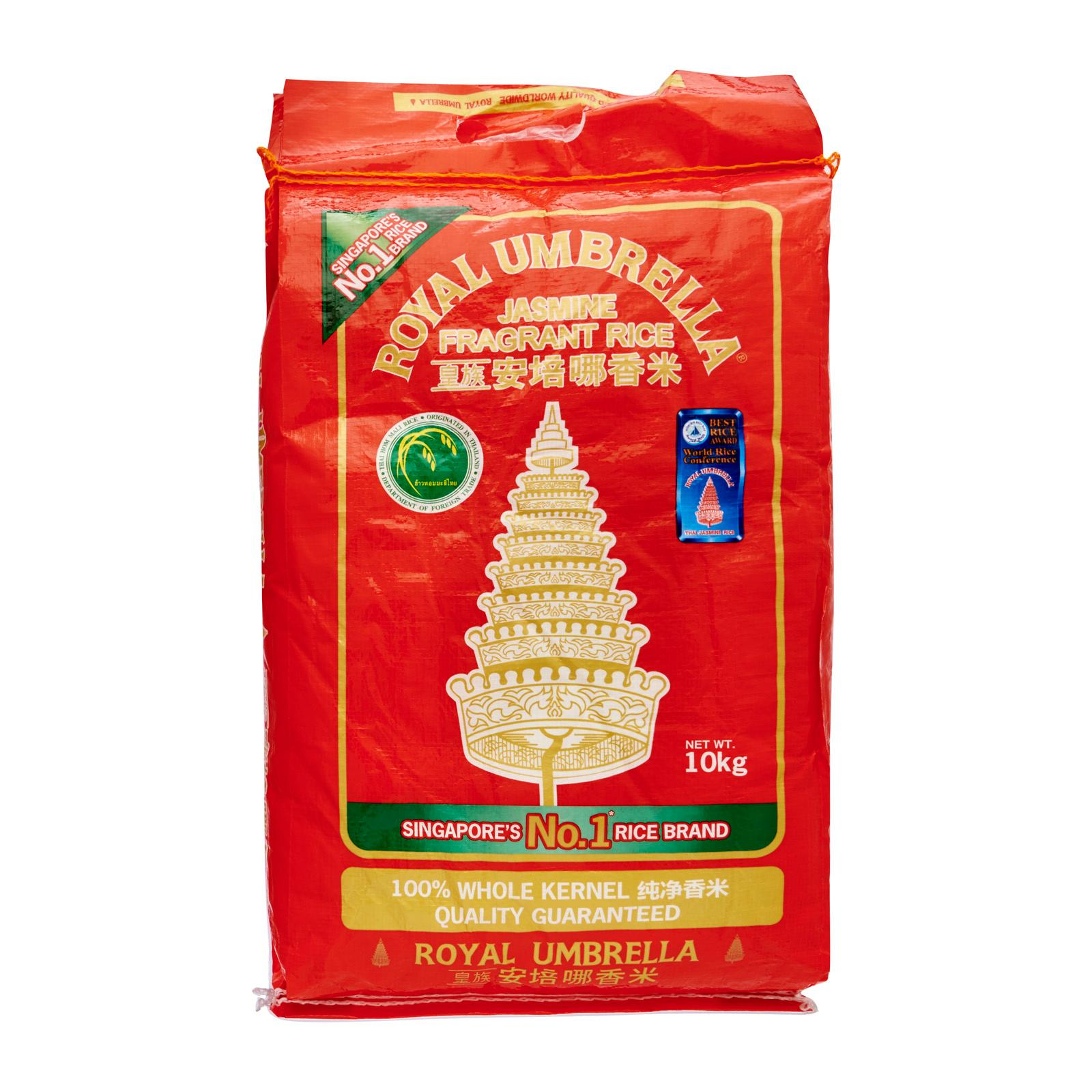 Royal Umbrella Fragrant Rice 10 kg