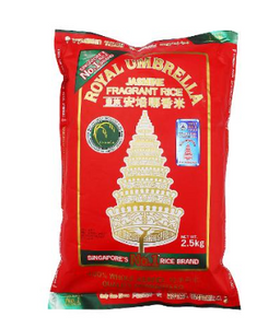 Royal Umbrella Fragrant Rice 2.5 kg
