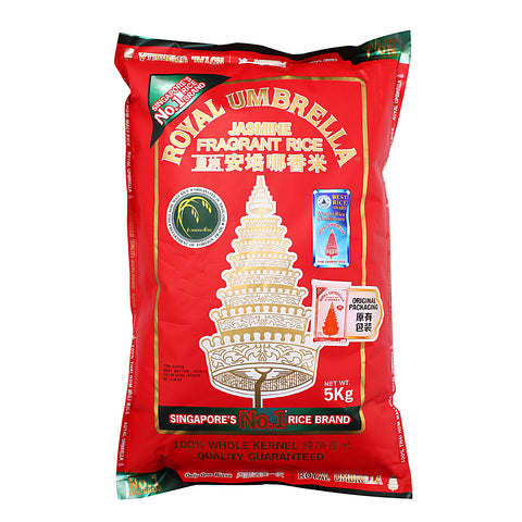 Royal Umbrella Fragrant Rice 5 kg