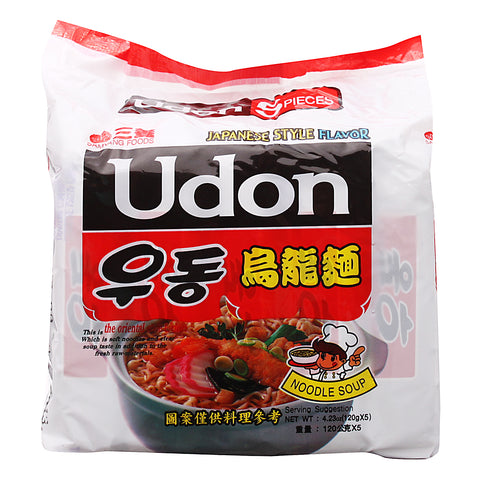 Samyang Japanese Style Flavor Udon 5 x 120 g