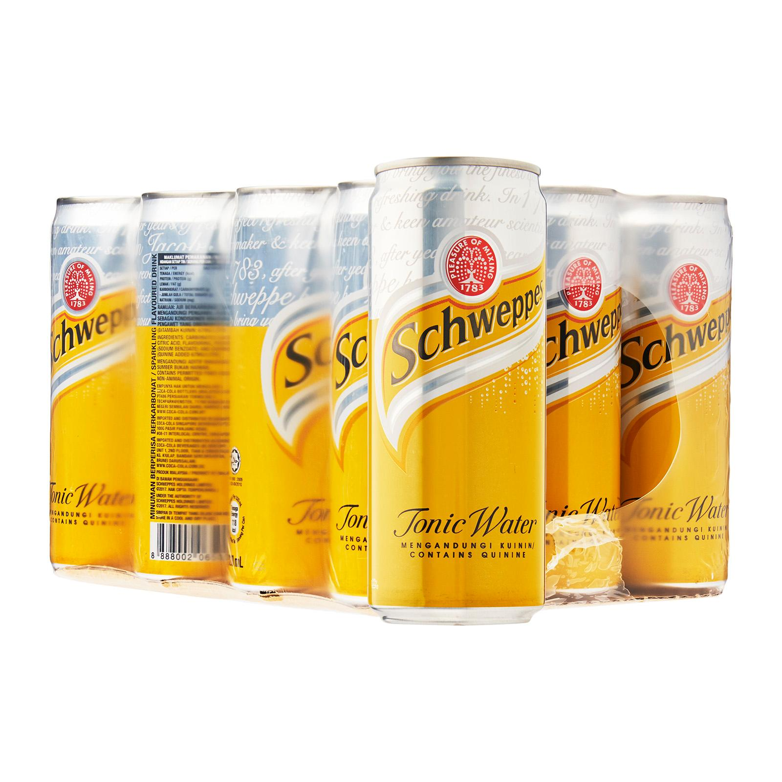 Schweppes Tonic Water 12 x 320 ml