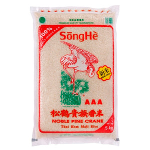 Song He Noble Pine Crane New Crop Rice 5kg