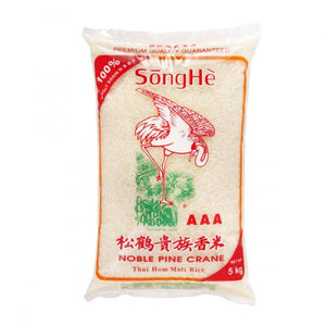 Song He Noble Pine Crane Rice 5kg