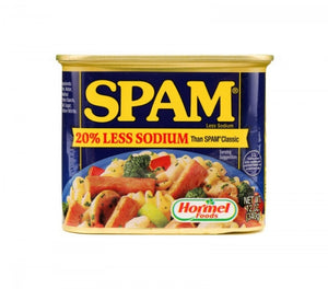 Spam Luncheon Meat 20% Less Sodium 340g