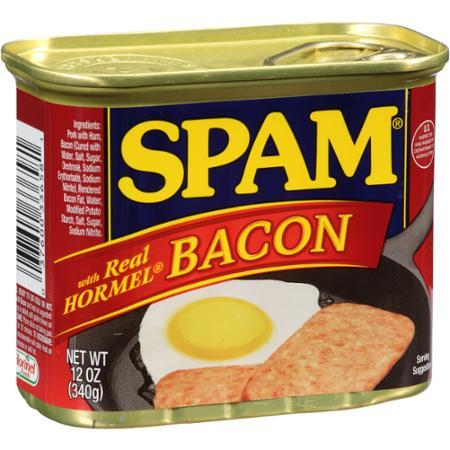 Spam Luncheon Meat Bacon 340g