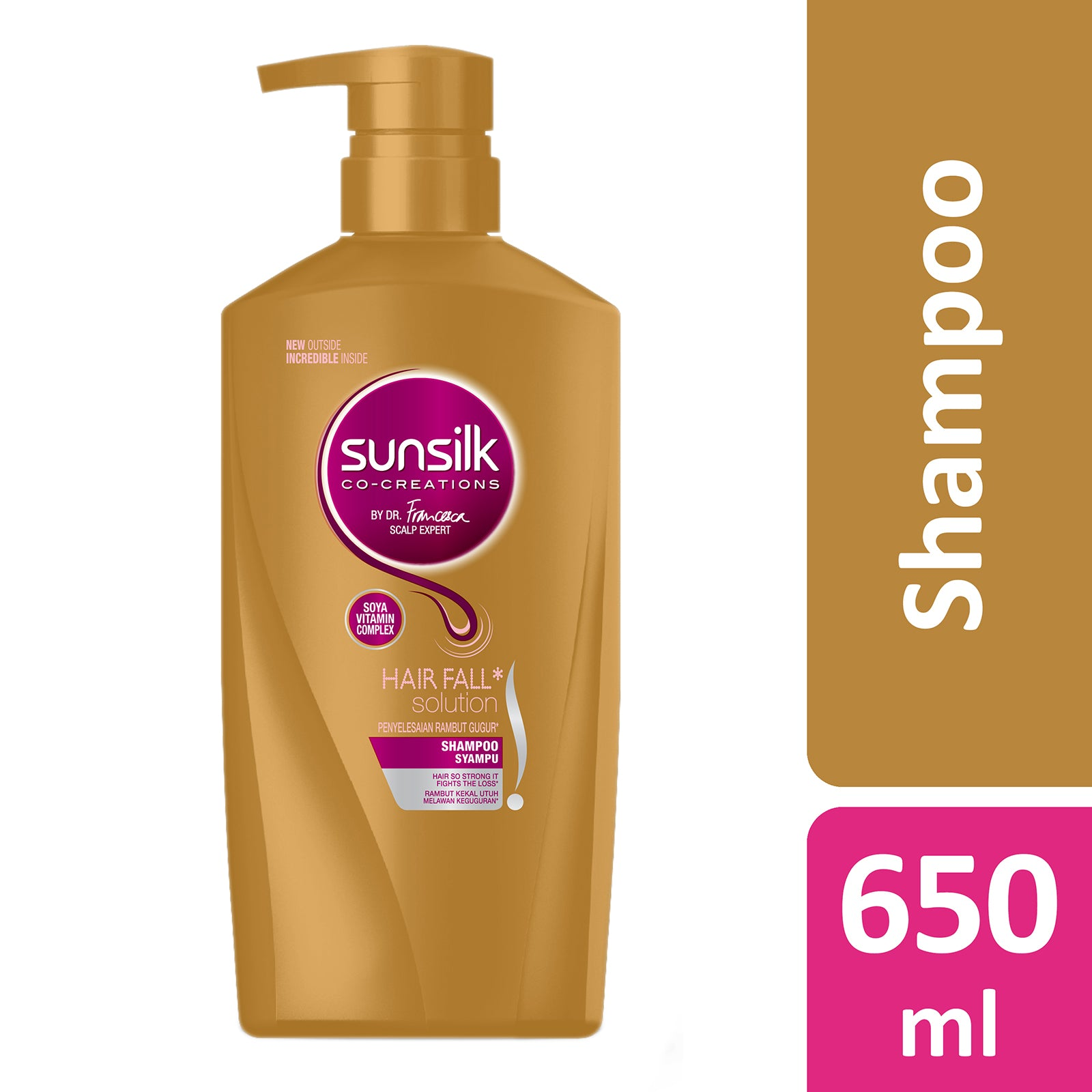 Sunsilk Hair Fall Solution Shampoo 650 ml