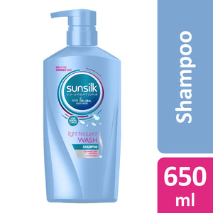 Sunsilk Light Frequent Wash Shampoo 650 ml
